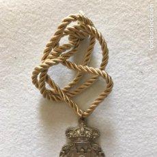 Varios objetos de Arte: GLORIA HUELVA. MEDALLA DE LA HERMANDAD DE TOMARES. SEVILLA. VIRGEN DEL ROCIO.. Lote 164578734