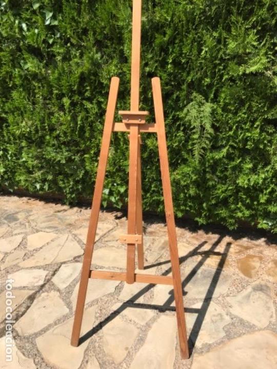 Varios objetos de Arte: Caballete de pintor en madera - Foto 2 - 164846330