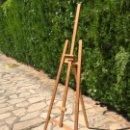 Varios objetos de Arte: CABALLETE DE PINTOR EN MADERA. Lote 164846330
