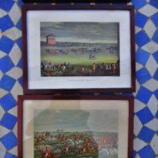 Varios objetos de Arte: LÁMINAS INGLESAS ENMARCADAS . Lote 165179238