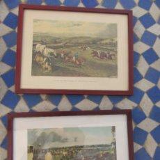 Varios objetos de Arte: LÁMINAS INGLESAS ENMARCADAS . Lote 165179390