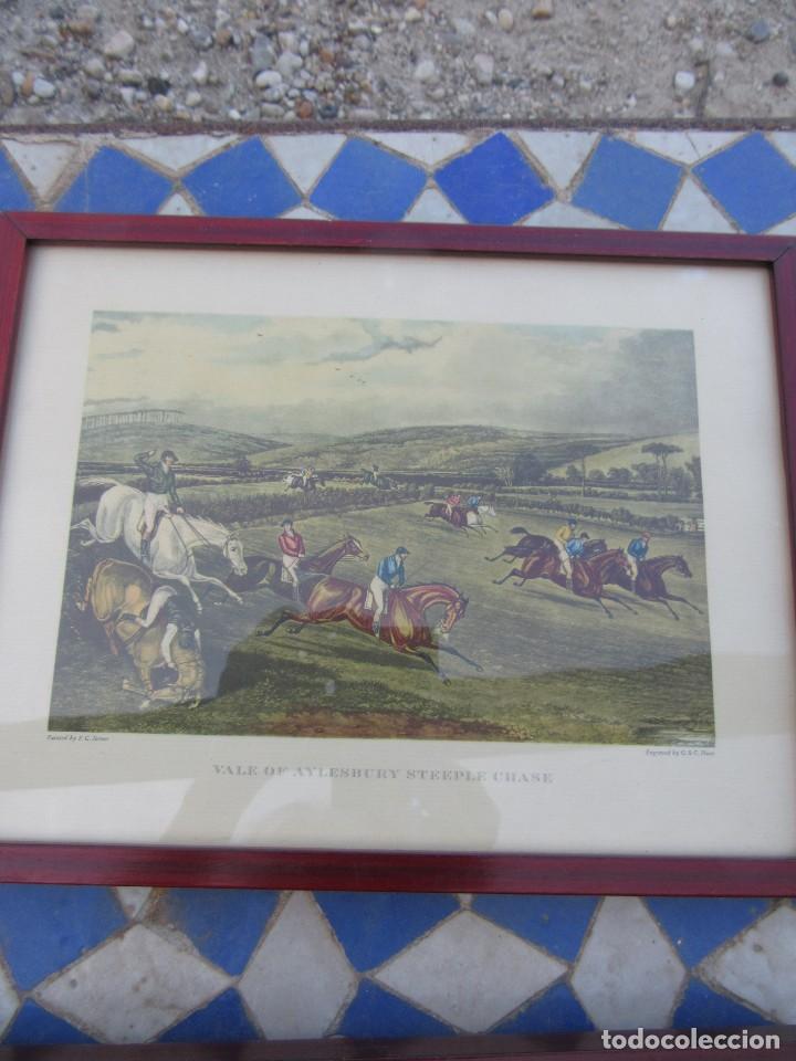 Varios objetos de Arte: LÁMINAS INGLESAS ENMARCADAS - Foto 3 - 165179390