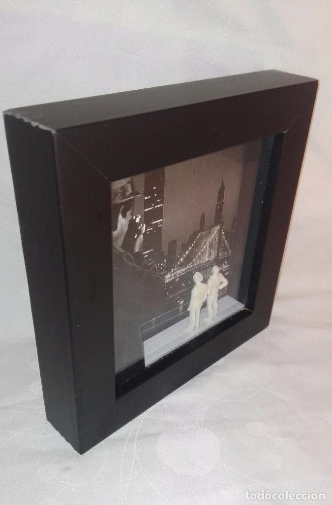 Varios objetos de Arte: CUADRO CAJA BOX ART,AUTOR MARC COHEN,AÑO 2004 - Foto 4 - 165273962