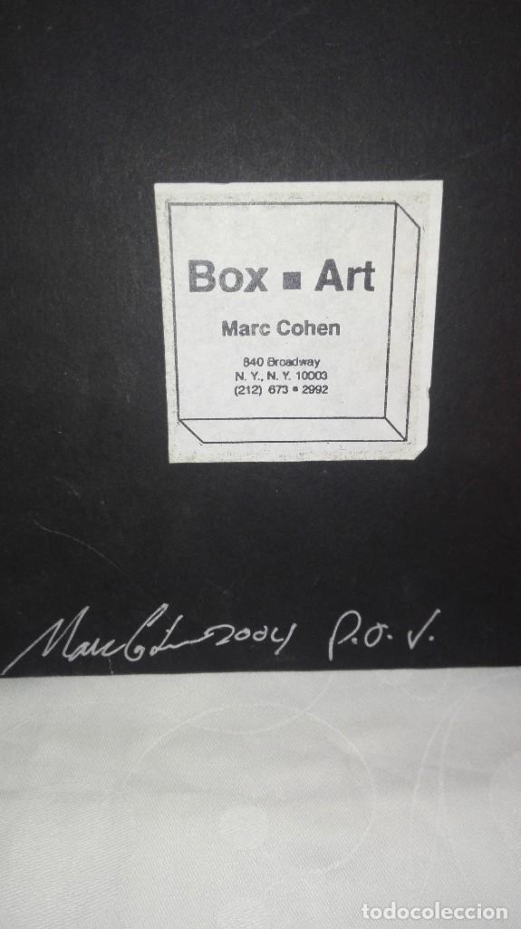 Varios objetos de Arte: CUADRO CAJA BOX ART,AUTOR MARC COHEN,AÑO 2004 - Foto 10 - 165273962