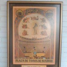 Varios objetos de Arte: PLAZA DE TOROS, MADRID. FERIA DE OTOÑO 1985. DESPEDIDA DE ANTONIO CHENEL, ANTOÑETE. JOSE ORTEGA CANO. Lote 165397906