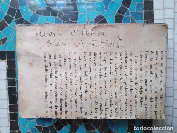 Varios objetos de Arte: Antonio Ribas Oliver. Taco xiligráfico - Foto 3 - 165427478
