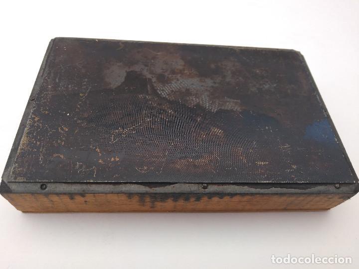 Varios objetos de Arte: Antonio Ribas Oliver. Taco xiligráfico - Foto 8 - 165427478