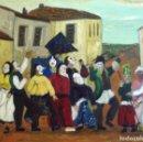 Varios objetos de Arte: FIESTA SARDINAS DE PUEBLO. Lote 165479314