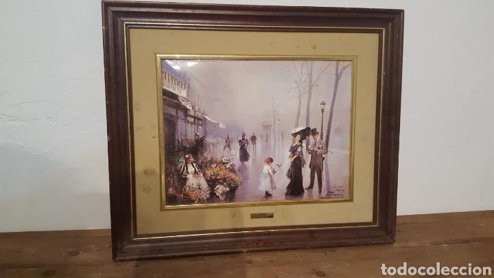 Varios objetos de Arte: Lote dos cuadros Maestro palmero - Foto 6 - 161397950