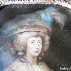 Varios objetos de Arte: CUADRO ANTIGUO FIRMADO Y, ENMARCADO. Lote 165521138