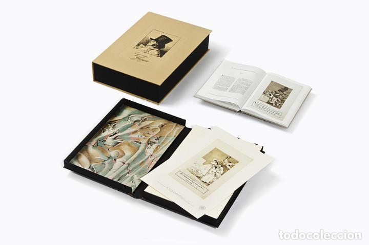 CAPRICHOS FRANCISCO DE GOYA EDICIÓN LIMITADA 2998 MUY BUEN ESTADO ENTREGA INMEDIATA - ARTIKA PLANETA (Arte - Varios Objetos de Arte)