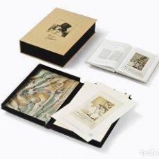 Varios objetos de Arte: CAPRICHOS FRANCISCO DE GOYA EDICIÓN LIMITADA 2998 MUY BUEN ESTADO ENTREGA INMEDIATA - ARTIKA PLANETA. Lote 165672862