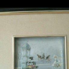 Varios objetos de Arte: ANTIGUO CUADRO DE ESMALTE. Lote 165742606