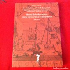Varios objetos de Arte: HISTORIA DE LAS IDEAS ESTÉTICAS Y DE LAS TEORÍAS ARTÍSTICAS CONTEMPORÁNEAS, VOLUMEN I, DIR. V. BOZAL. Lote 165773502