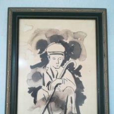 Varios objetos de Arte: PINTOR DE TABERNES DE LA VALLDIGNA DE CARMEN ALBEROLA (1952). Lote 166165478