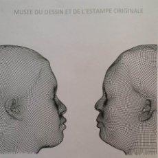 Varios objetos de Arte: JAUME PLENSA: AFFICHE ORIGINAL, NURIA & IRMA, 2012. Lote 166680386