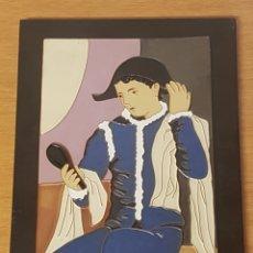 Varios objetos de Arte: CERAMICA PICASSO ARLEQUIN CON ESPEJO. Lote 166712361