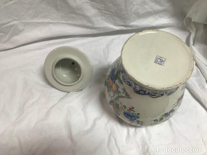 Varios objetos de Arte: Tibor chino de porcelana pintada a mano - Foto 4 - 167005104