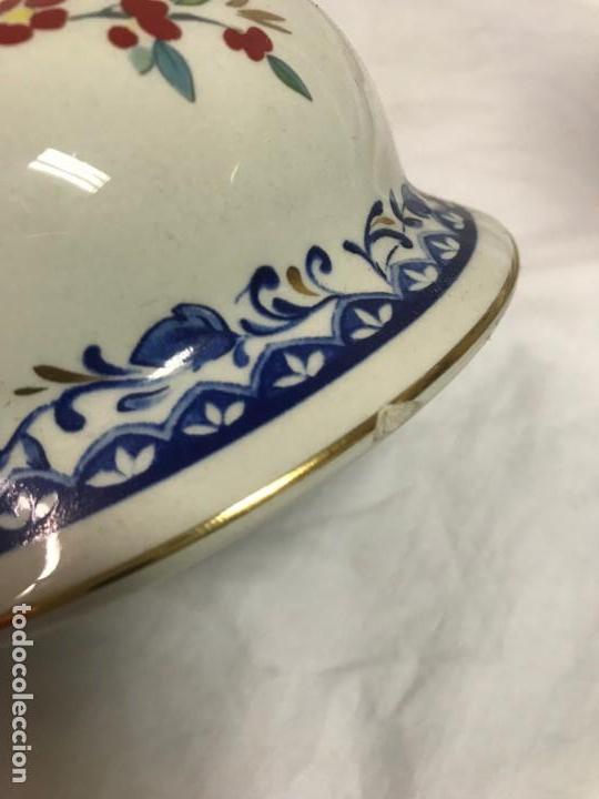 Varios objetos de Arte: Tibor chino de porcelana pintada a mano - Foto 8 - 167005104