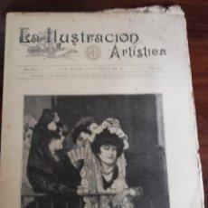 Varios objetos de Arte: LA ILUSTRACIÓN ARTÍSTICA. AÑO XIX. BARCELONA, 16 DE NOVIEMBRE DE 1903. Nº 1142. ZULOAGA. Lote 168062288