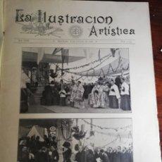 Varios objetos de Arte: LA ILUSTRACIÓN ARTÍSTICA. AÑO XIX. BARCELONA, 8 DE OCTUBRE DE 1906. Nº 1293 HOSPITAL CLÍNICO BARC.. Lote 168069960