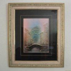 Varios objetos de Arte: CUADRO PINTURA DE PAISAJE EN RELIEVE O TEXTURA. Lote 169149900