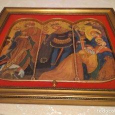 Varios objetos de Arte: GARAJE BEN18 CUADRO VIRGEN MARIA NIÑO JESUS RELIGIOSO VER FOTOS. Lote 169764864