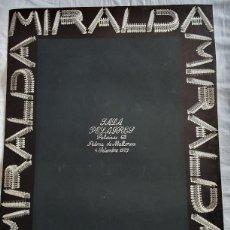 Varios objetos de Arte: ANTONI MIRALDA. CARTEL.. Lote 169824044