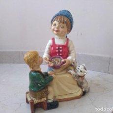 Varios objetos de Arte: FIGURA LUCAVALLI CON SELLO AUTENTICIDAD. Lote 170118308