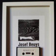 Varios objetos de Arte: JOSEPH BEUYS: JEDER MENSCH EIN KÜNSTLER ACHBERG, CASETTE DE AUDIO, 1978, III. Lote 170514600