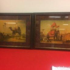 Varios objetos de Arte: CUADROS DE LA INDIA. Lote 170870017