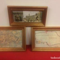 Varios objetos de Arte: CUADROS DE LEON. Lote 170870274