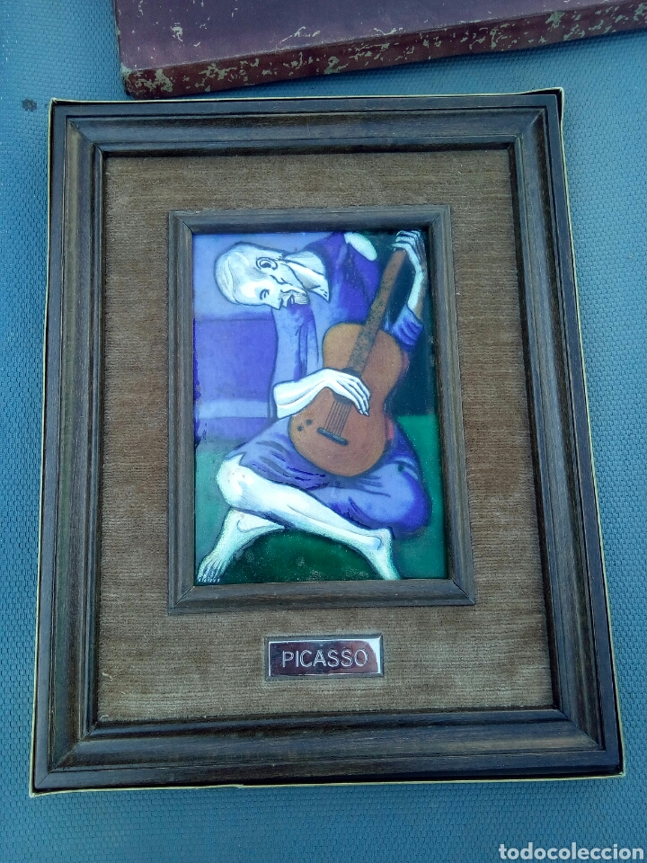 Varios objetos de Arte: ESMALTE AL FUEGO ENMARCADO - Foto 4 - 170949457