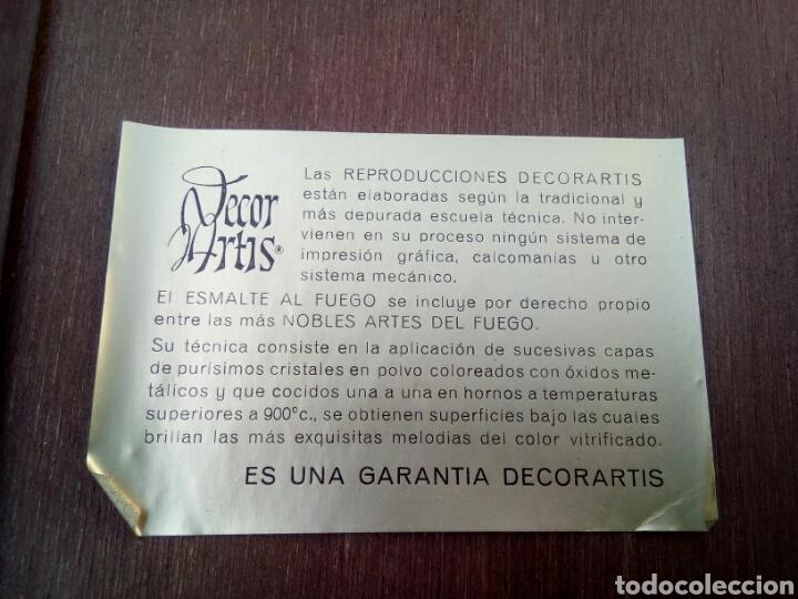 Varios objetos de Arte: ESMALTE AL FUEGO ENMARCADO - Foto 6 - 170949457
