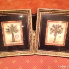 Varios objetos de Arte: CUADRO DE PALMERAS. Lote 171065409