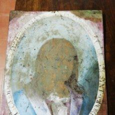Varios objetos de Arte: COBRE PINTADO. Lote 171199439