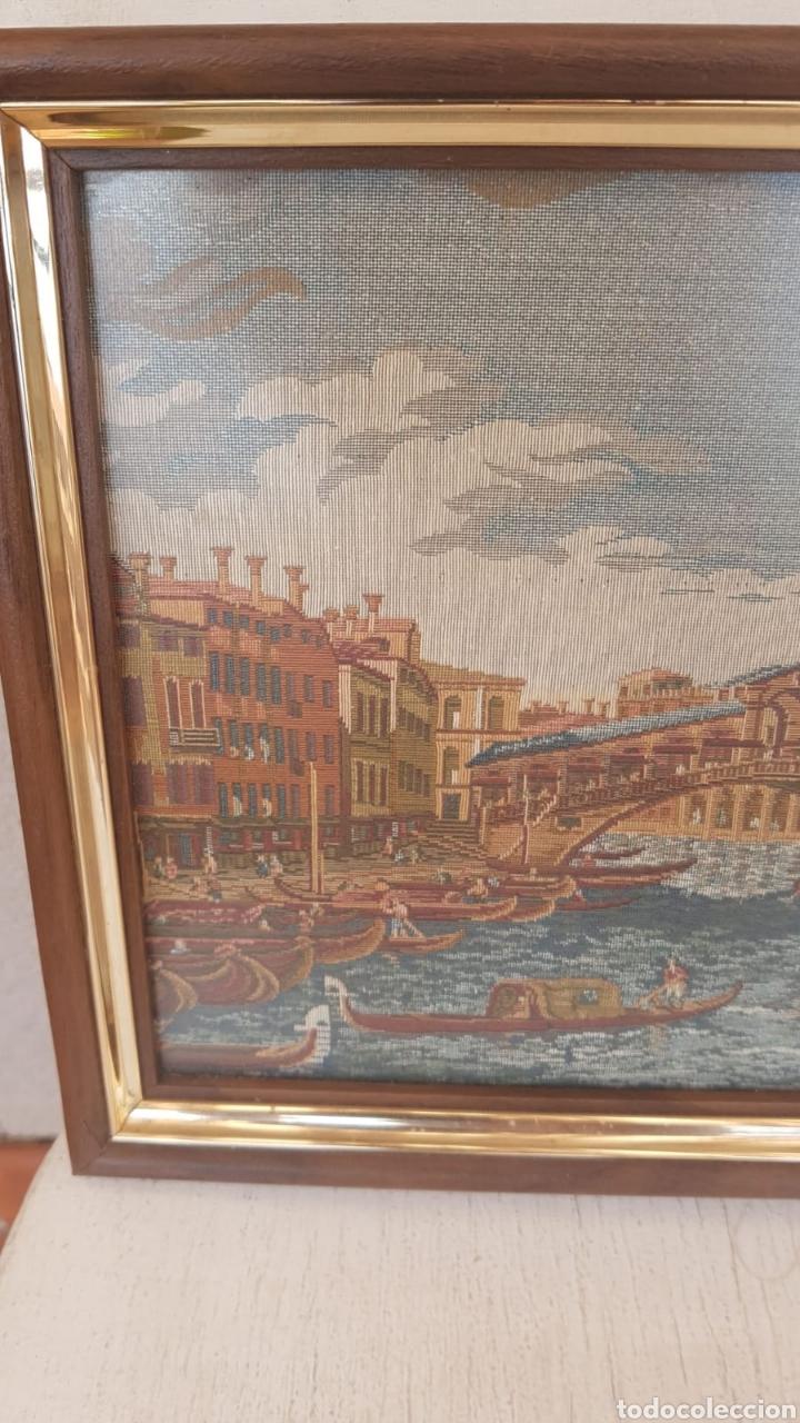Varios objetos de Arte: Tapiz enmarcado Venecia - Foto 2 - 171242125