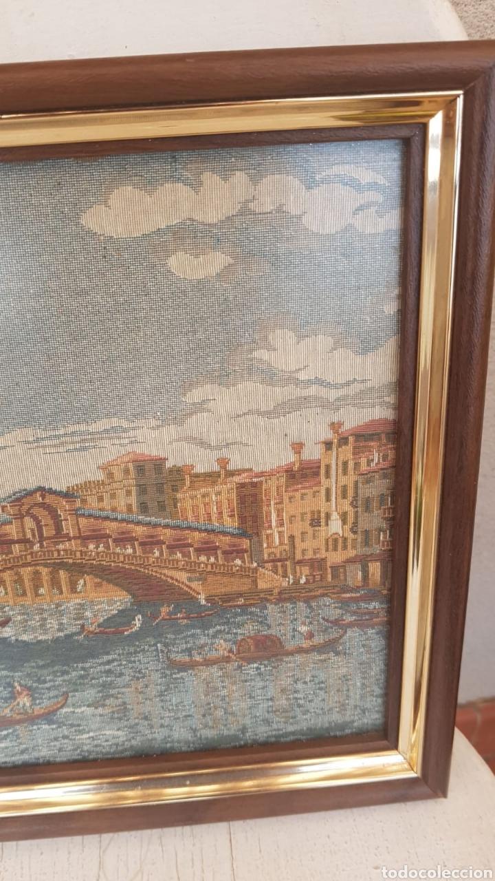 Varios objetos de Arte: Tapiz enmarcado Venecia - Foto 3 - 171242125