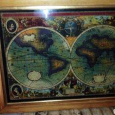 Varios objetos de Arte: CRISTAL PINTADO POR DETRAS ,INGLES, MUNDO ANTIGUO,VER FOTOS.. Lote 171257008