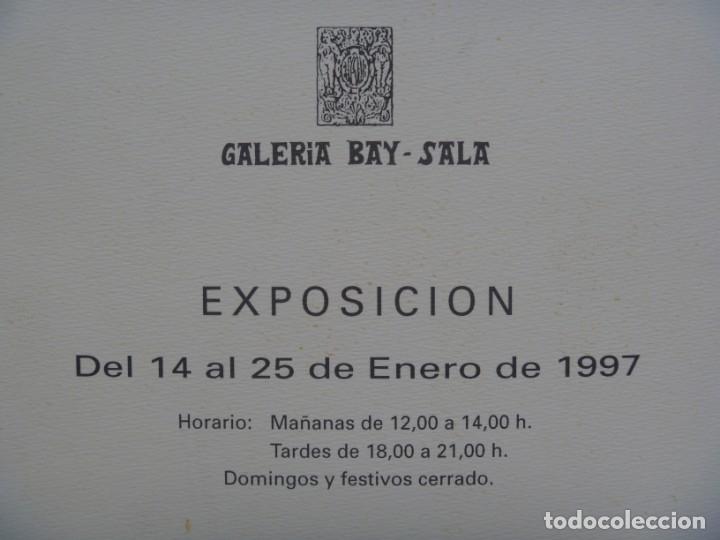 Varios objetos de Arte: SAN SALVADOR PINTOR CATÁLOGO EXPOSICIÓN ACUARELAS RIBERA DEUSTO Y FORCALL GALERÍA BAY-SALA - Foto 4 - 171503833