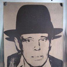 Varios objetos de Arte: CARTEL JOSEPH BEUYS · GALERÍA ERHARDT · MADRID, 1981. Lote 171660979