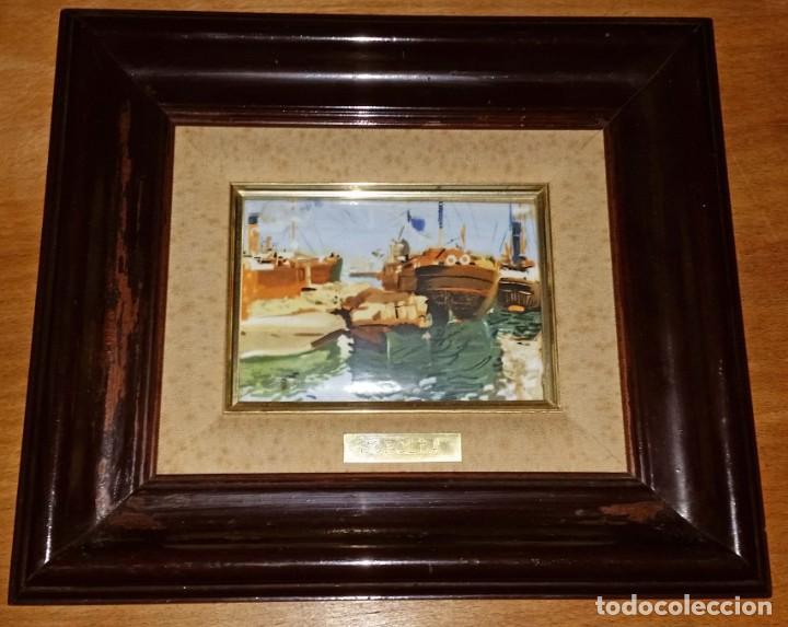 Varios objetos de Arte: CUADRO ESMALTE SOROLLA - Foto 2 - 171704233