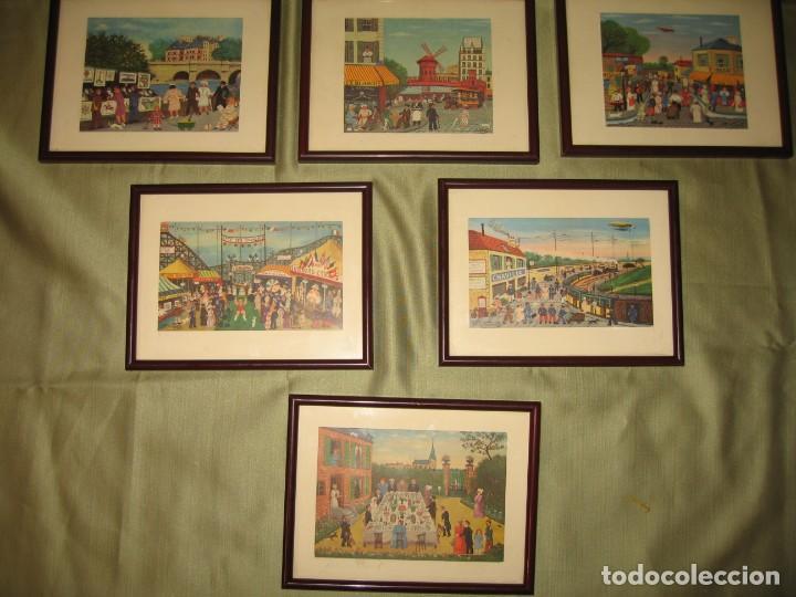 Varios objetos de Arte: ONCE MINI CUADROS CON TEMAS DE HECTOR TROTIN 25 ANIVERSARIO DE FINANZAUTO CARTERPILLAR - Foto 3 - 171779894
