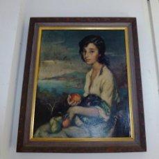 Varios objetos de Arte: CUADRO DEL PINTOR FRANCISCO RIBERA.LAMINA SOBRE TABLEX BARNIZADA.. Lote 172033727