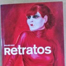 Varios objetos de Arte: ROLAND KANZ, RETRATOS, TASCHEN 2008,. Lote 172367684