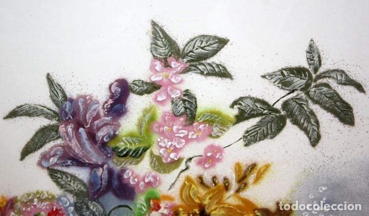 Varios objetos de Arte: ESMALTE FIRMADO POR J.R COSTA (MARIDO DE LA ARTISTA MONTSERRAT MAINAR) FLORERO - Foto 6 - 172609213