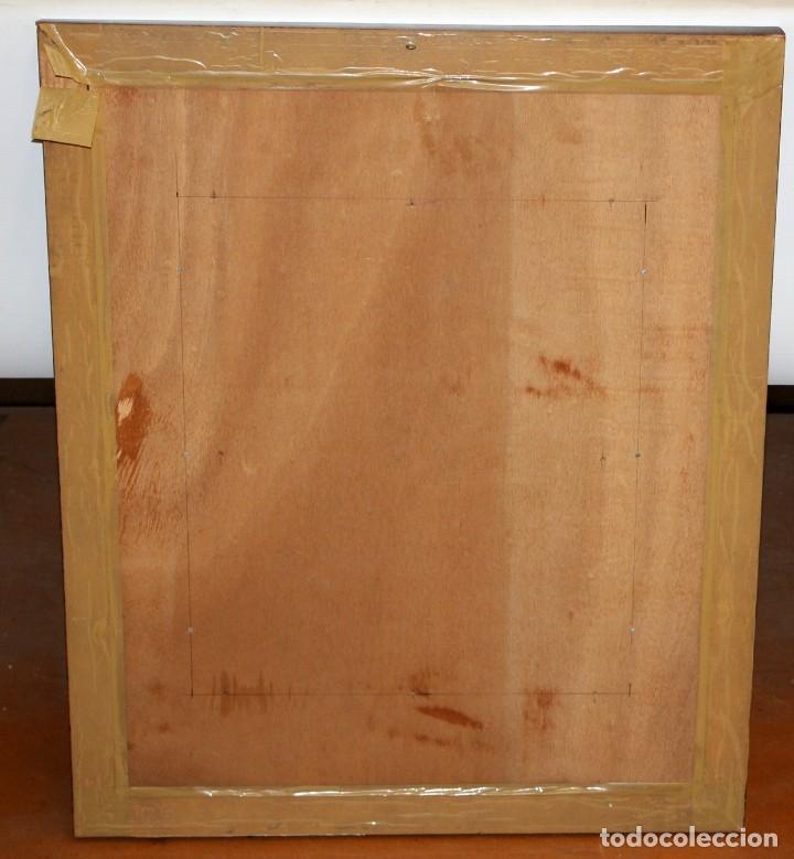Varios objetos de Arte: ESMALTE FIRMADO POR J.R COSTA (MARIDO DE LA ARTISTA MONTSERRAT MAINAR) FLORERO - Foto 8 - 172609213