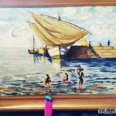 Varios objetos de Arte: ÓLEO SOBRE TABLA FIRMADO J CANET PRECIOSO. Lote 172661922