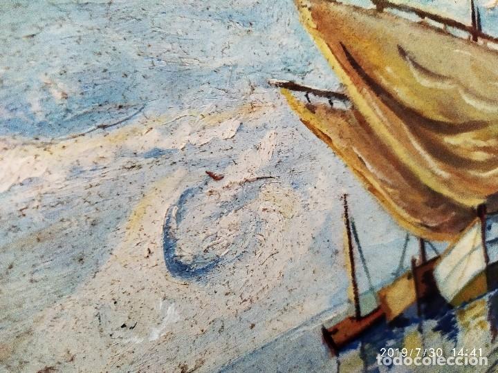 Varios objetos de Arte: ÓLEO SOBRE TABLA FIRMADO J CANET PRECIOSO - Foto 3 - 172661922