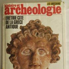 Varios objetos de Arte: HISTOIRE ET ARCHEOLOGIE MAGAZINE GRECE ANTIQUE. Lote 172917645